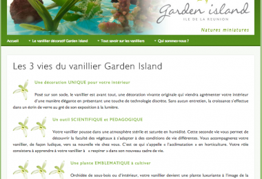 Launch of Garden Island – La Réunion
